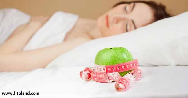 سوخت و ساز و کاهش وزن و چربی سوزی با خواب