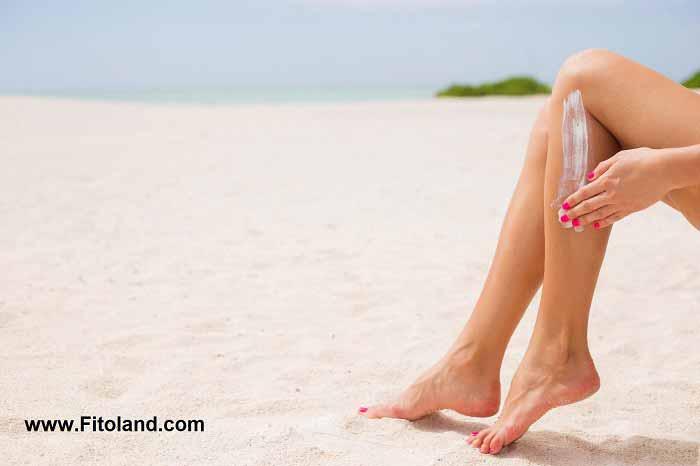 تشخیص نوع پوست و استفاده از کرم ضد آفتاب