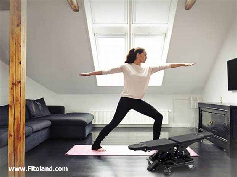 تمرین فیتنس در خانه