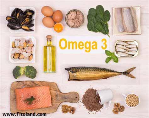 اسید چرب امگا 3 مکمل برای کاهش وزن