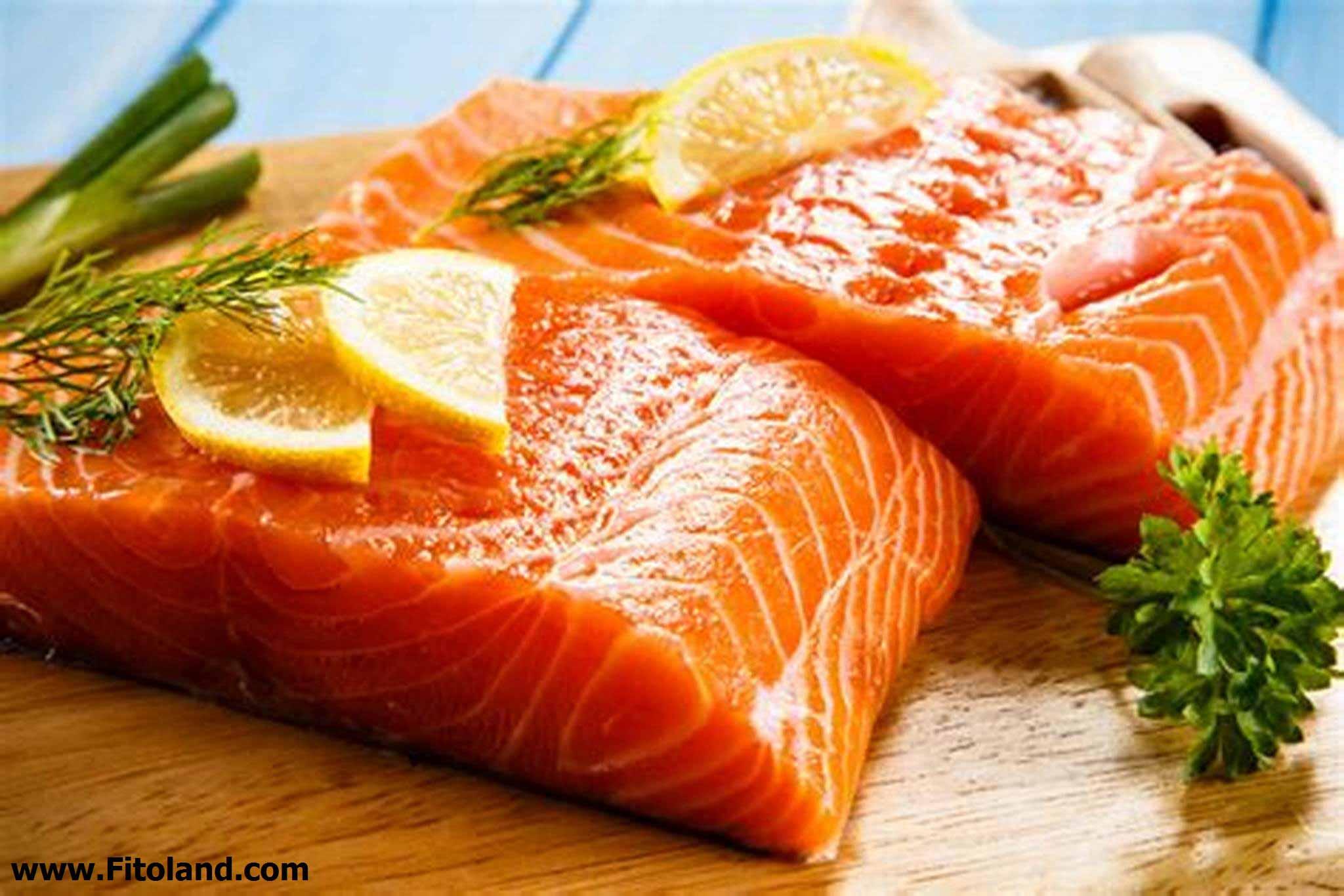 ماهیهای روغنی و چرب، از بهترین غذاها برای رشد و سلامت مو