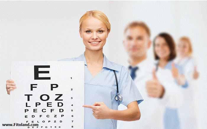 تست سلامت بانوان و سنجش بینایی
