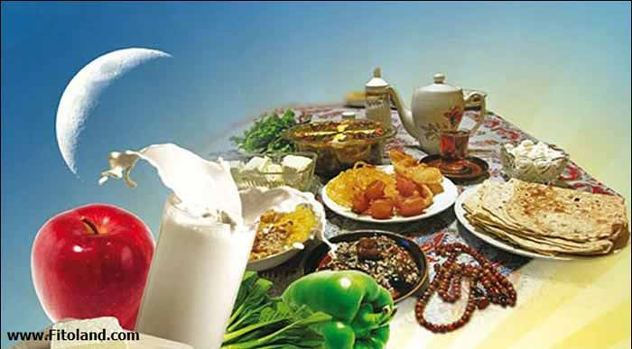 بهترین رژیم غذایی برای ماه رمضان