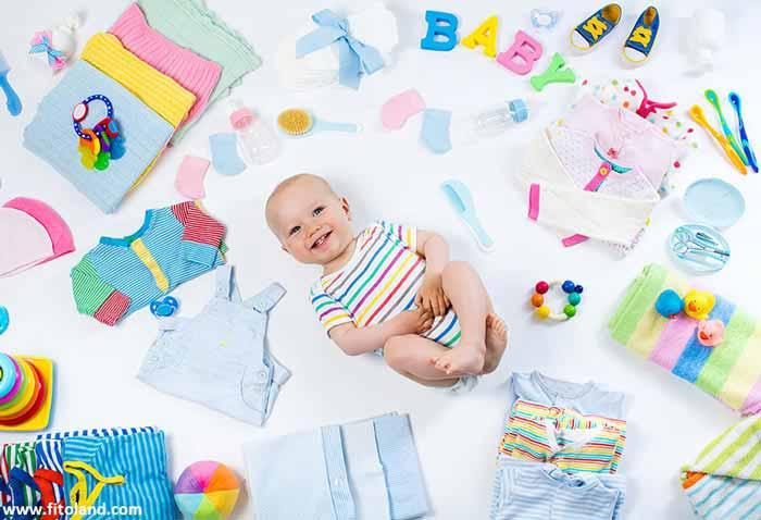 وسایل مورد نیاز مراقبت از نوزاد
