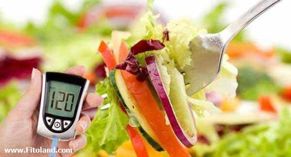 رژیم غذایی برای دیابت نوع2