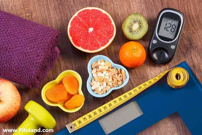 برنامه رژیم غذایی دیابت نوع 2