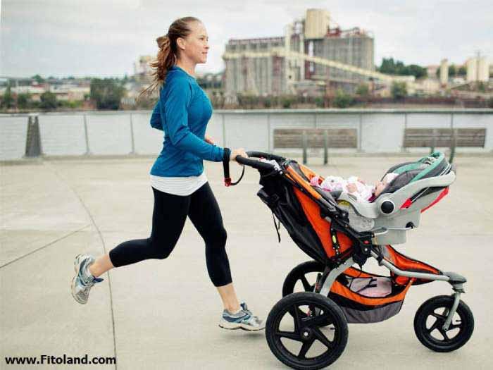 لاغری و کاهش وزن بعد از بارداری