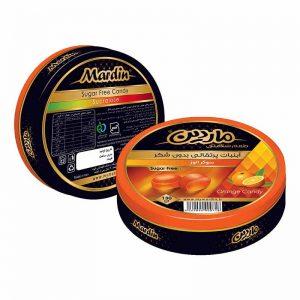 آبنبات رژيمي بدون شکر با طعم پرتقال ماردين 130 گرمی