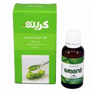 طعم دهنده طبیعی لیموترش گرینو 30میل کاهش وزن