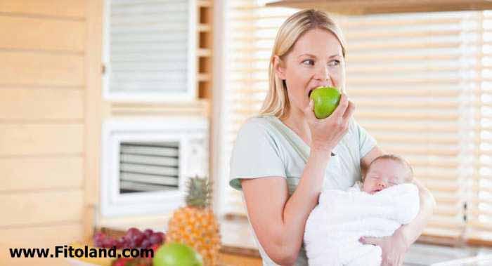 رژیم دوران شیردهی