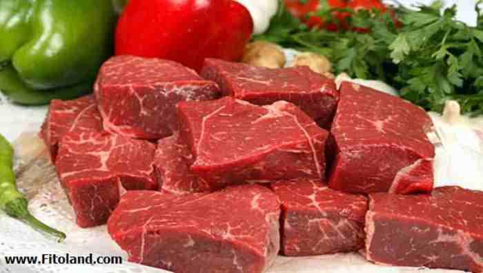 برنامه تغذیه مادران شیرده با گوشت