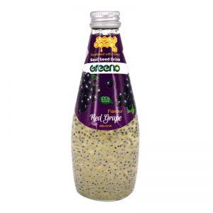 نوشیدنی آلوئهورا با طعم انگور شیرین شده با عسل گرینو 300میل