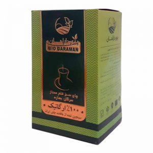 چای سبز قلمی ارگانیک دارامان 150گرمی
