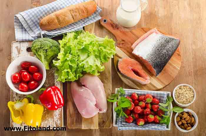 ناهار سالم و رژیمی برای تناسب اندام