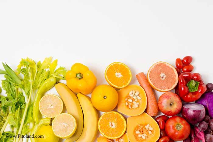 سبزیجات و میوه ها برای چالش کاهش وزن