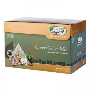 دمنوش گیاهی قهوه سبز مهرگیاه 14عددی
