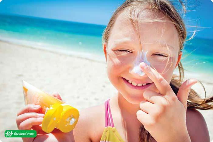 راهنمای استفاده از ضد آفتاب