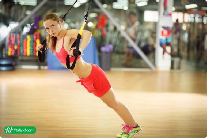 ورزش TRX و تناسب اندام با ورزش تی آر ایکس یا لاغری با ورزش تی آر ایکس