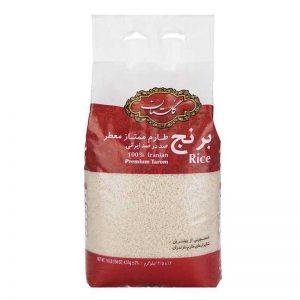 برنج طارم ممتاز گلستان 5.4 کیلویی