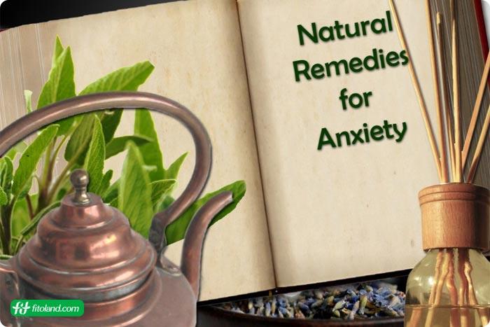 روشهای درمان طبیعی اضطراب