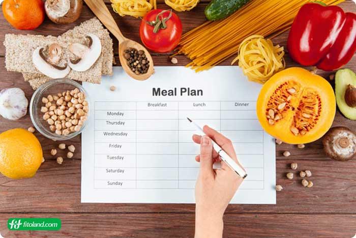 انواع برنامههای رژیم غذایی