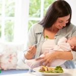 رژیم غذایی دوران شیردهی