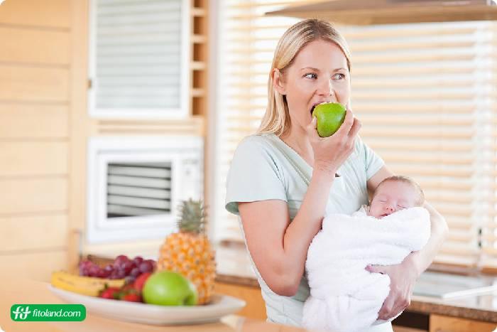 تغذیه مادر در دوران شیردهی و توجه به غذای مناسب مادران شیرده