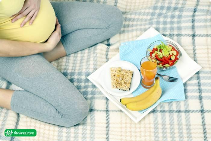 برنامه رژیم غذایی سه ماهه اول بارداری