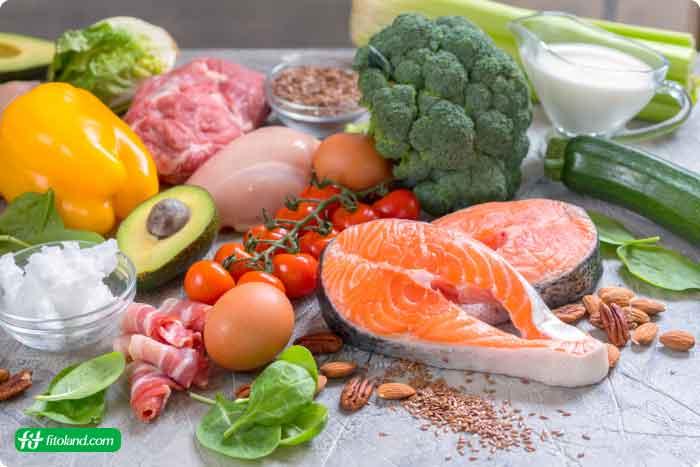 برنامه غذایی کم کربوهیدرات