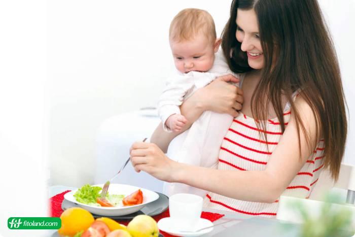 برنامه رژیم غذایی بعد از بارداری