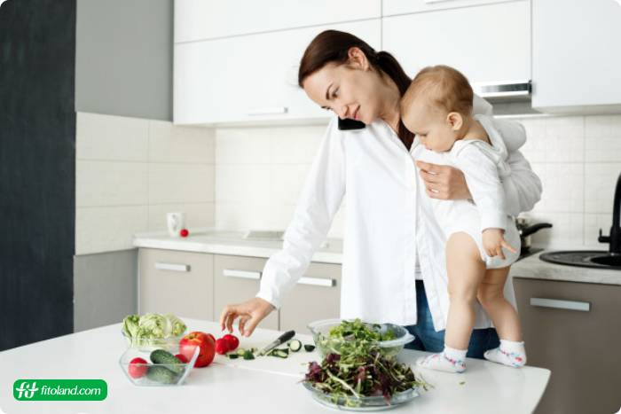 برنامه رژیم غذایی لاغری بعد از بارداری