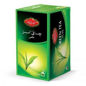 تی بگ چای سبز خالص گلستان 25 عددی