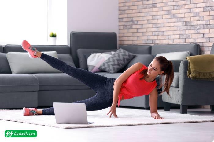 برنامه مقدماتی ورزش در خانه