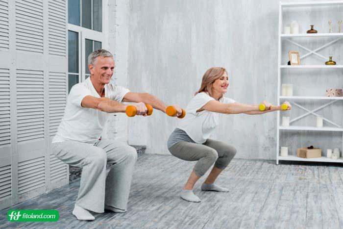 برنامه ورزش در منزل برای همه سنین