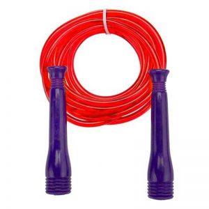 طناب ورزشی ساده قرمز