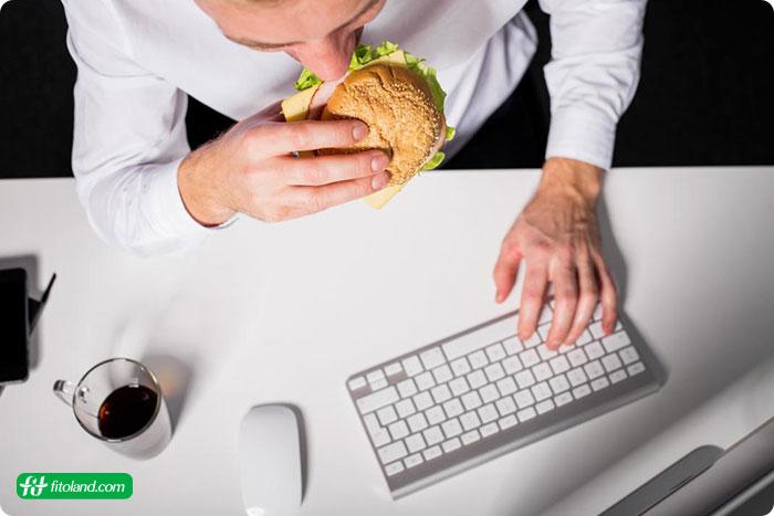 علت گرسنگی کاذب