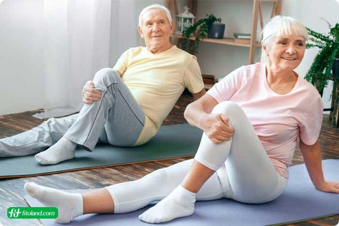 برنامه ورزش در خانه بزرگسالان