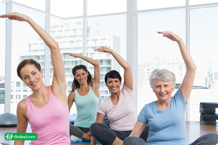ورزشهای مفید دوران یائسگی