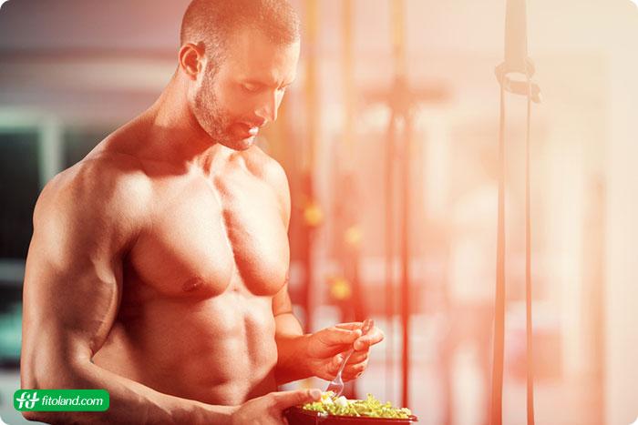 چگونه بدون مکمل عضله سازی کنیم