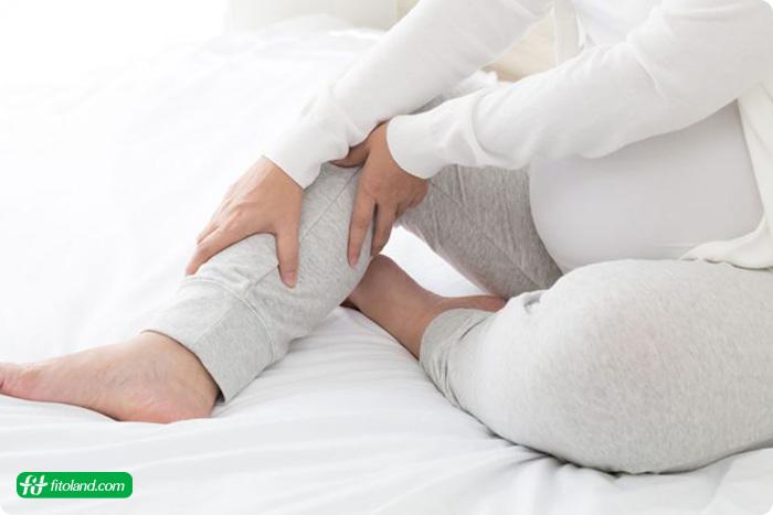 گرفتگی عضلات پا در بارداری