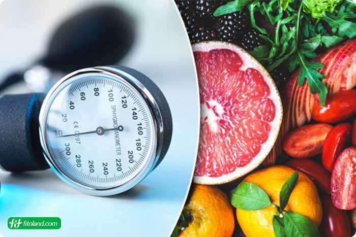 برنامه رژیم غذایی کنترل فشار خون